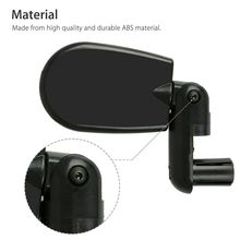 High-quality Bicycle Mountain Bike Adjustable Rotatable Handle Rearview Plane Mirror Equipment