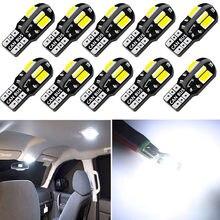 Ampoule Led T10 pour intérieur de voiture, Canbus pour VW Golf Polo Passat Scirocco Tiguan pour Skoda Octavia Seat, 10 pièces