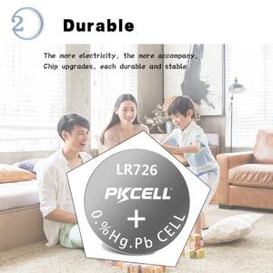 Image 3 - 100 pièces/10 carte AG2 1.5V 396 SR726SW SR59 726 LR59 0% mercure bouton piles pour balles oeufs montres calculatrices télécommande