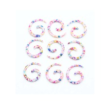 2pcs Acrylic Spiral Ear Gauges Tapers Stretching Plugs And Tunnel Expanders Body Piercing Jewelry