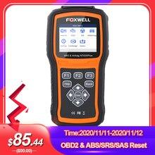 Foxwell NT630 Più OBD2 Automotive Scanner Motore di Controllo ABS SRS Airbag SAS di Reset Crash Dati ODB OBD 2 Auto Auto strumento di diagnostica