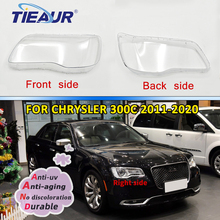 Headlight Headlamp Clear Lens Cover paralume for CHRYSLER 300C 2007-2020 Transparent Lens Cover Shell Replacement DIY