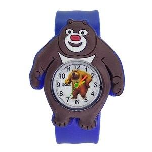 Оптовая продажа от производителя, детские часы с рисунком динозавра из мультфильма, детские часы с застежкой, детские игрушки для мальчиков и девочек, часы в подарок