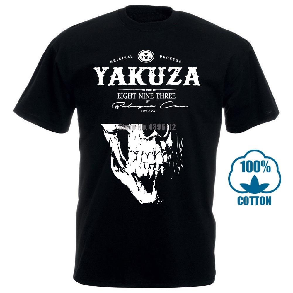 Nuova Tendenza Di Moda Yakuza T Shirt 1 Mens Girocollo Maniche Basa Casual Top Abbigliamento Di Moda Maglietta Di Modo 100% cotone