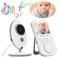 VB605 baby phone monitor wideo niania 2.4 cal LCD IR Night vision monitor temperatury domofon dziecko telefon vigimabebes