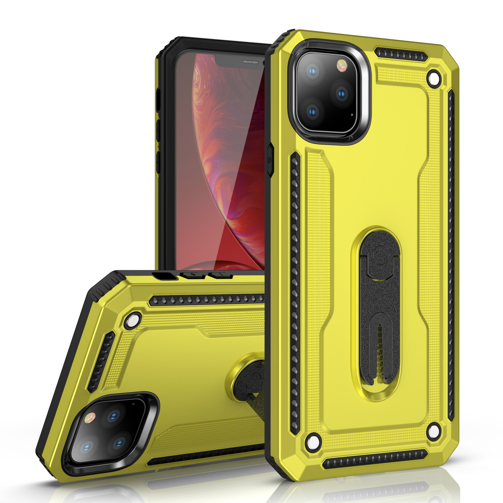 Magnetic Armor Holder <font><b>phone</b></font> <font><b>Case</b></font> for <font><b>OPPO</b></font> F5 Youth A79 A37 Neo 9 A59 <font><b>F1S</b></font> F3 A77 A71 A39 A57 F7 A7 A5S A3S A5 F9 Back Cover <font><b>Case</b></font> image