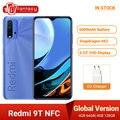 Глобальная версия Xiaomi Redmi 9 T-9 T, NFC Смартфон Snapdragon 4 Гб 128 6,53