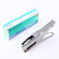 Japan HP-88 Clamp Stapler Labor-saving Hand-held Laundry Factory Label Clamp Stapler Using Arched Nail