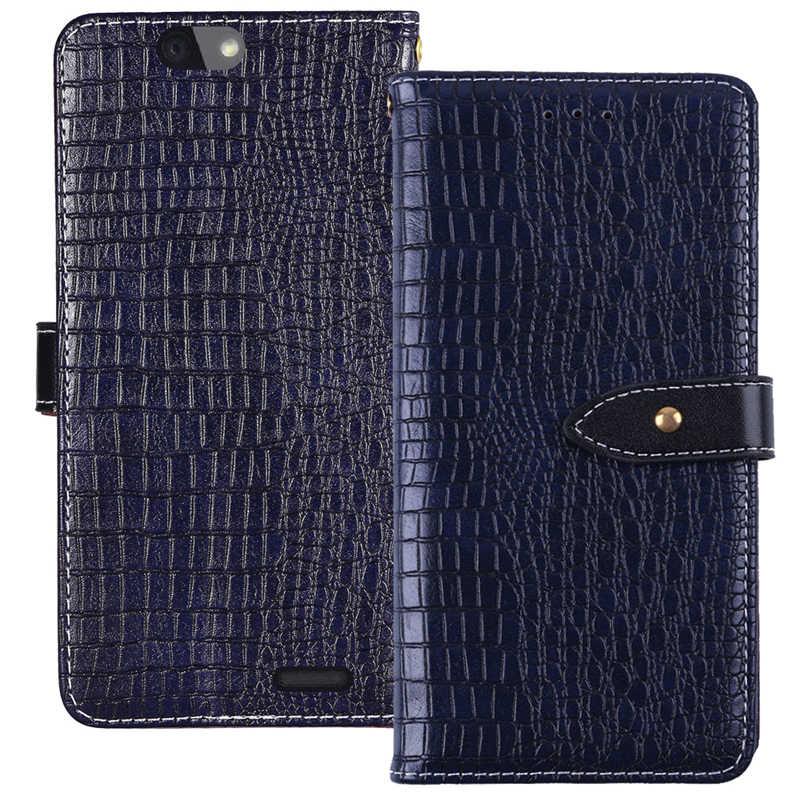 ITien защитный Высококачественный винтажный Стильный кожаный чехол для телефона для VAIO Phone VA-10J 5 дюймов Чехол-Кошелек Etui