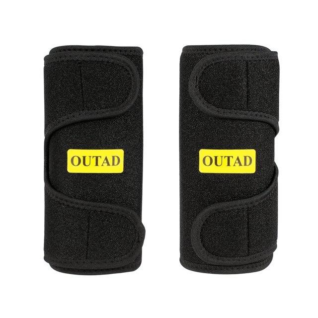 2020 Arm Warmers Sweat Arm Shaper Sauna Effect Shaping Adjustment Tightening Arm Slimming Shaping Belts Heat Insulation 2PCS