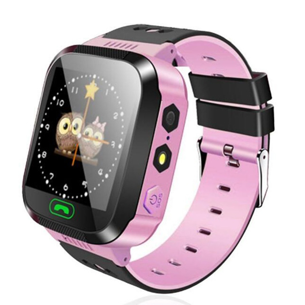 <font><b>Q528</b></font> Y21 Anti-lost Child <font><b>Kid</b></font> <font><b>Smart</b></font> <font><b>Watch</b></font> Positioning GPS Fitness Location SOS Call Safe Care With Flashlight Baby Smartwatch image