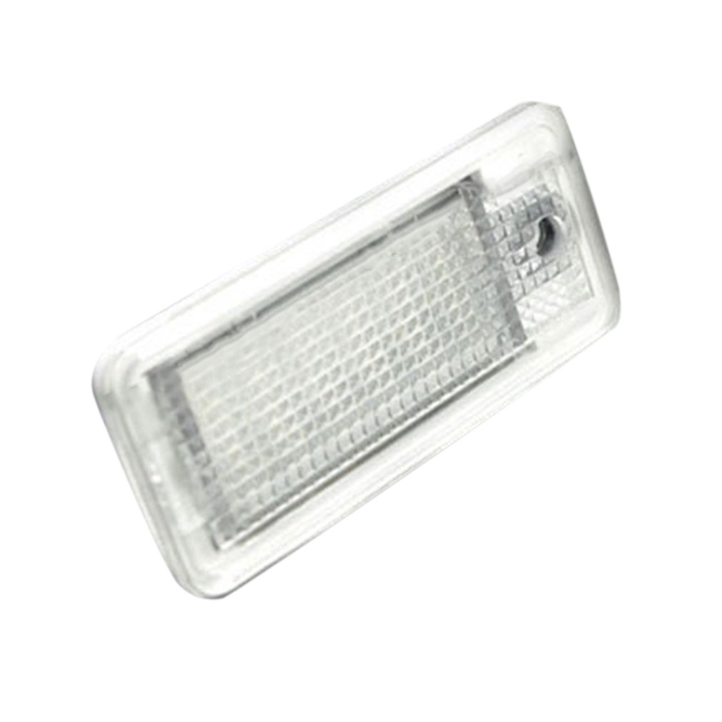 1PC LED License Plate Lamps For AUDI A3 A4 A6 C6 A8 S8 RS4 RS6 Q7 B6 B7 Daylight White LED License Plate Lamps