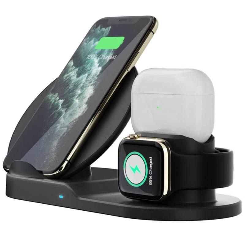 2020 New Qi Wireless Charger Fast Charging for iPhone Xs Max X 8 Plus Fast Charging Pad for Samsung Note 9 S10 Plus charger