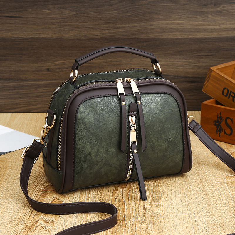 RanHuang 2020 Women's Vintage Flap High Quality Pu Leather Handbags Ladies Fashion Shoulder Bags Small Handbags Messenger Bags