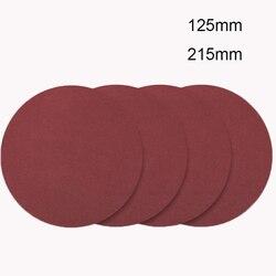 20 шт/лот шлифовальный бумажный шлифовальщик стен шлифовальный диск 125 мм 215 мм