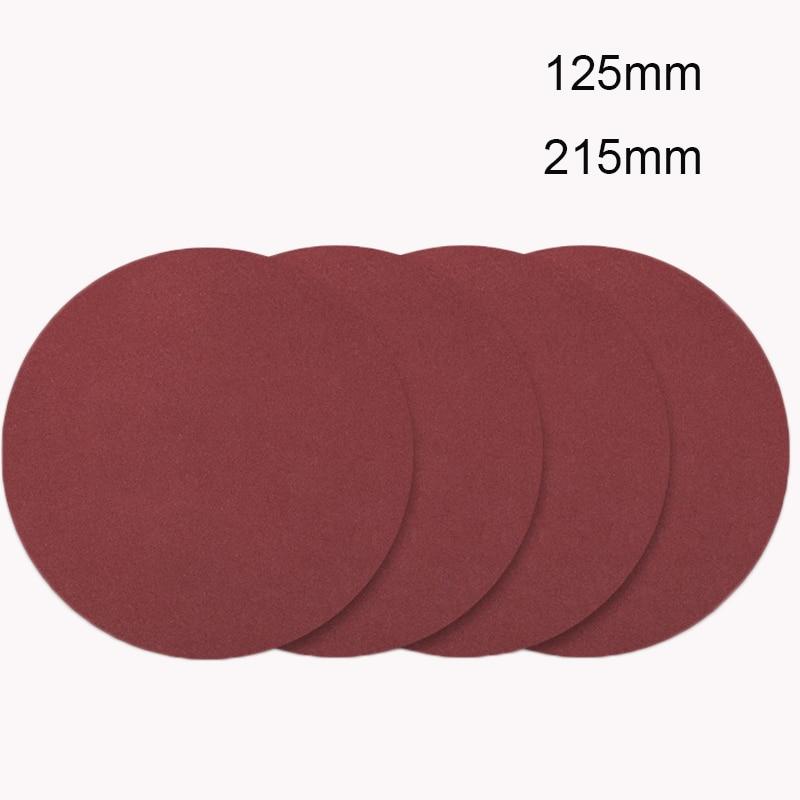 Lote Lixa Parede Moedor Polidor Disco Pad 125 Milímetros 215 20 Pçs –