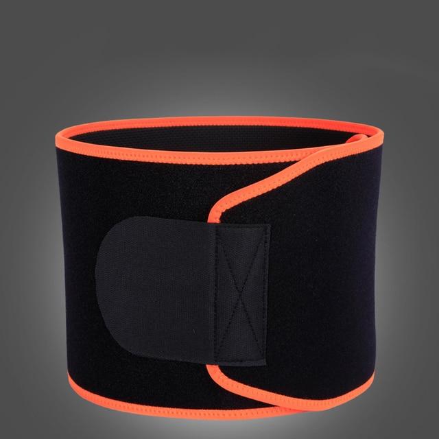 Adjustable Elastic Waist Support Belt Lumbar Back Sweat Belt Fitness Weightlifting Sports Waist Trainer Safety For Women Men 5