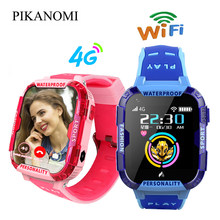 New Children 4G Sim Smart Watch Kid GPS Positioning Tracker Wrist Watch Waterproof WiFi Video Call Baby Anti-lost Location Watch(China)