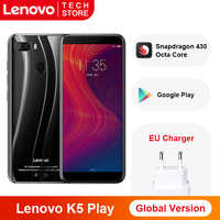 Global Version Lenovo K5 Play 3GB 32GB Snapdragon Octa Core Smartphone Fingerprint 5.7'' inch Rear Camera 13MP 2MP