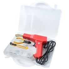 פלסטיק רתך מוסך כלים חם סיכות מכונה מצרך PVC תיקון מכונת רכב פגוש תיקון חם מהדק הלחמה ברזל