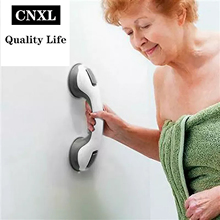 CNXL 1/2PCS Safety Helping Handle Anti Slip Support Toilet Bathroom Safe Grab Bar Handle Vacuum Sucker Suction Cup Handrail