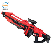 Childrens toy hetero-secondary god of war childrens gun electric 20 consecutive shooting air soft bullet toys