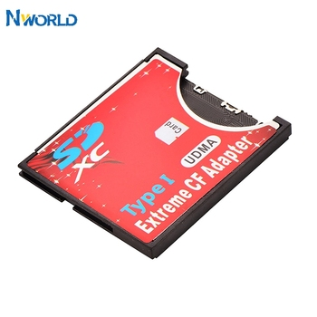 Hot Sell SD CF Card Adapter Wireless Wifi SD MMC SDHC SDXC Slot To CF Type I Compact Flash Memory CF Card Adapter For SLR Camera