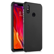 LANTRO JS Phone Case For Xiaomi 8 Protective Cover TPU Grinding Anti-falling