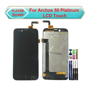 For Archos 50 Platinum LCD Display With Touch Screen Digitizer Assembly Replacement With Tools+3M Sticker