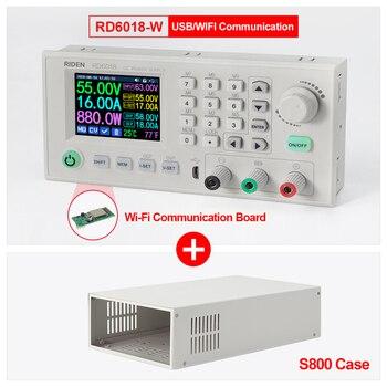 Fuente de alimentación, Riden RD6018 RD6018W 0 a 60V 18A WiFi USB DC-DC voltaje módulo de fuente de alimentación convertidor Buck del voltímetro del multímetro de S800 caso 1