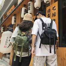 New Men Small Backpack Unisex Streetwear Cloth Bag College