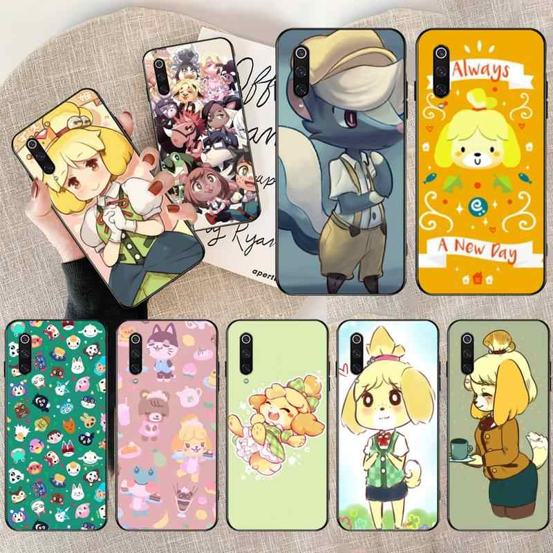NBDRUICAI Animal Crossing Coque Shell Telefon Fall für Redmi Hinweis 8 8A 7 6 6A 5 5A 4 4X 4A gehen Pro Plus Prime