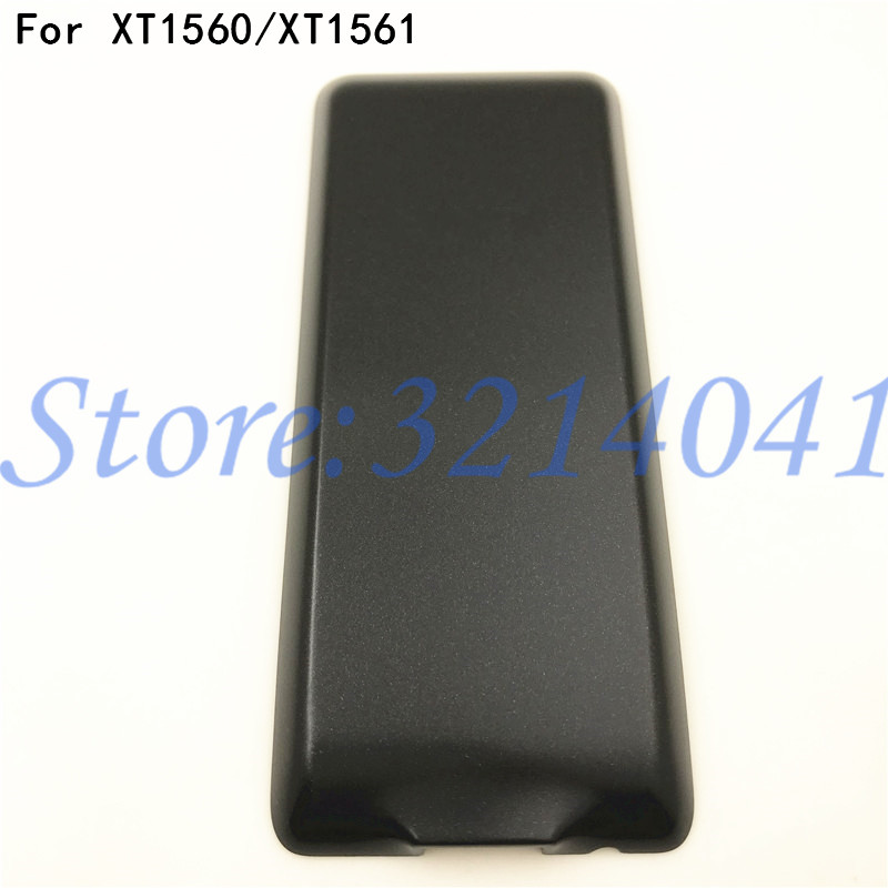 Original New Black Battery Cover Case For Philips X1560 X1561 Mobile battery cover Repair parts image