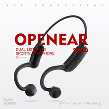 Новинка 6D стерео гарнитура с костной проводимостью беспроводной Bluetooth Спорт на открытом воздухе бас наушники для высокого качества Роскошный мобильный телефон