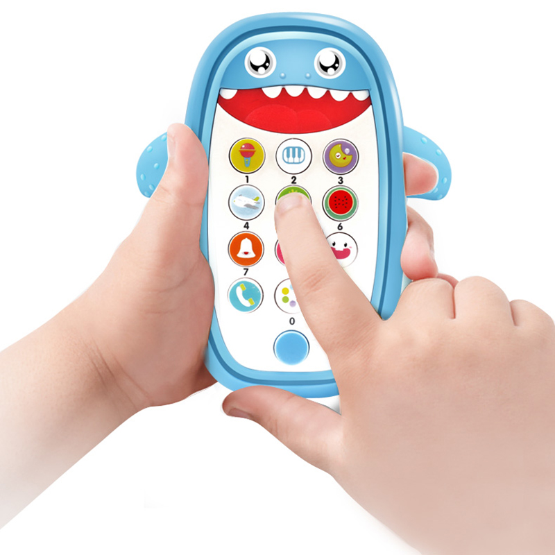Mini Cute Baby Phone Toy Music Multi-functiona Early Educational Simulation Sound Mobile Kids Cartoon Learning Toys For Children