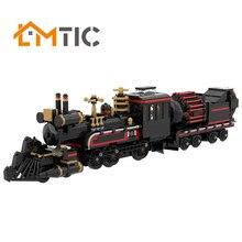 MOC Movie Back to the Future 'Jules Verne' Time Train 880pcs Building Blocks Diy Toys Bricks Educational Xmas Gift For Children