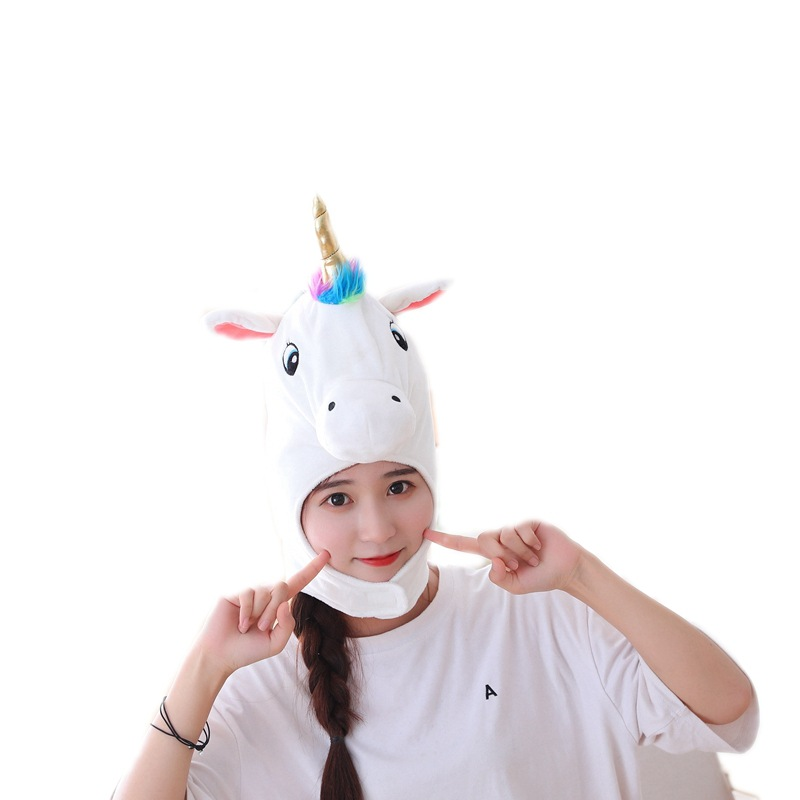 New All-inclusive Unicorn Headgear Hat Party Hat Funny Toy Children Party