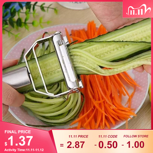 Stainless Steel Multi-function Vegetable Peeler&ampJulienne Cutter Julienne Peeler Potato Carrot Grater Kitchen Tool