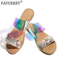 Летние женские шлепанцы; уличные пляжные сандалии со стразами; удобная женская обувь без застежки с открытым носком