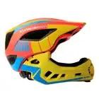 Casco de bicicleta de cara completa para niños LED Balance de luces traseras/bicicleta de empuje casco de patinaje para niños cascos deportivos 47 58cm