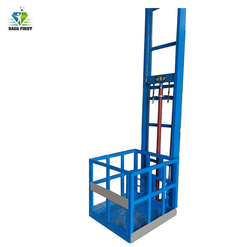 Hydraulic Warehouse Cargo Lift Material Handling Lifting Elevator With CE Certificate
