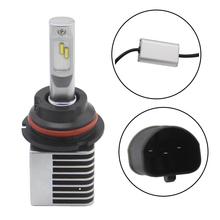 SHUOKE NEW Arrivals LED Lights Bulbs 9007 HB5 Hi Lo Auto Headlights 12V Led Headlight 28W 3200LM 6000K Free Shipping