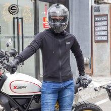 SFKรถจักรยานยนต์สไตล์ใหม่ขี่เสื้อผ้าLeisure RacingชุดFall Proofรถจักรยานยนต์Commuter Coatสุขาภิบาลเสื้อผ้าป้องกัน