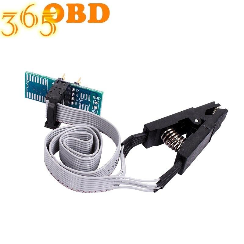 SOIC8 SOP8 SOP Формат Флэш-Памяти зажим для проверки ИС розетка адаптер BIOS 24 25 93 программист программируемый модуль доска