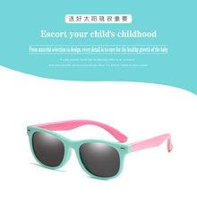Поляризованные солнцезащитные очки tr90 для мальчиков и девочек