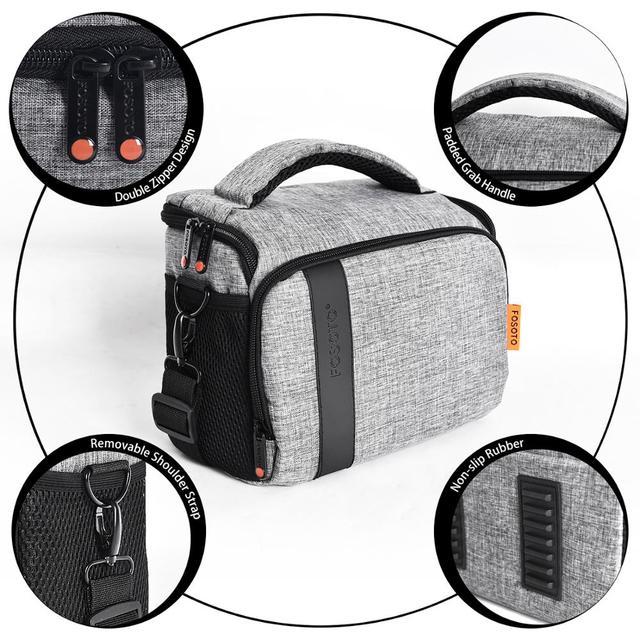 Нейлоновая сумка для видео и фото аппаратуры для объектива Canon Nikon B500 P900 D90 D750 D7000 4