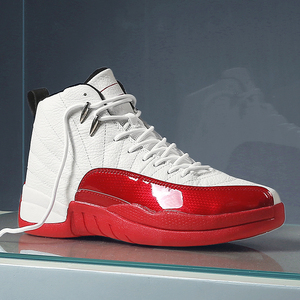 Брендовые высокие кроссовки из кожи Jordan, баскетбольные кроссовки для мужчин 2020, дышащие баскетбольные кроссовки, амортизирующие мужские ул...