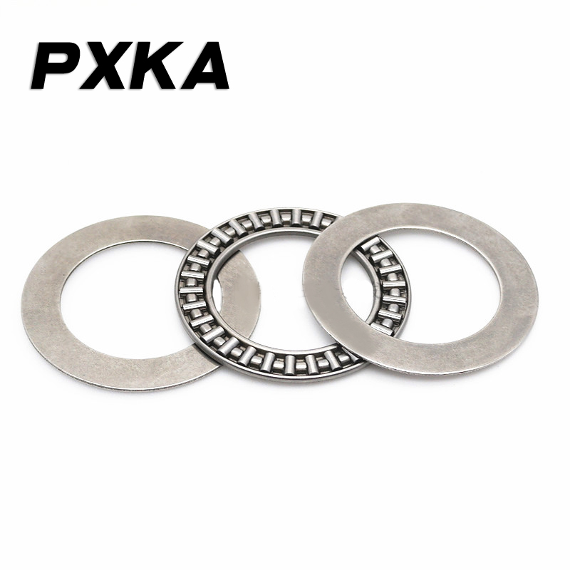 2PCS Free Shipping High Quality Flat Thrust Needle Roller Bearings AXK3047/3552/4060/4565/5070/5578/6085/6590+2AS