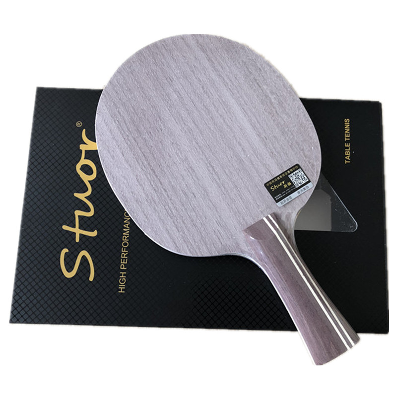 Stuor 19 New Dynasty Carbon Table Tennis Racket 7 Ply Structure FL Handle Or Cs Handle Ping Pong Bats For Table Tennis Blade