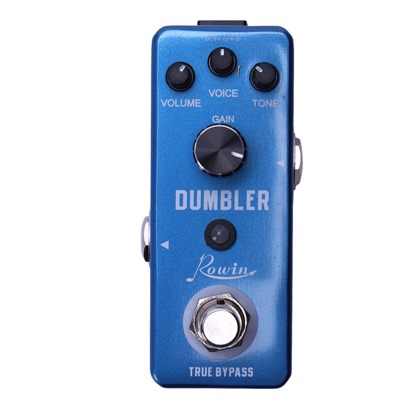 Rowin LEF-315 Analog Dumbler Guitar Effect Pedal,Provide You With Sound Ranging From A Tasty Light Overdrive To A Juicy Medium L